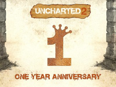 Uncharted 2 Birthday Logo