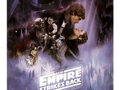 Star Wars Episode V - Tthe Empire Strikes Back Poster